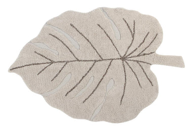 Lorena Canals machinewasbaar tapijt 120x180cm Monstera Natural