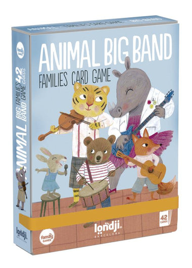 Londji KaartSpel | Animals Big Band
