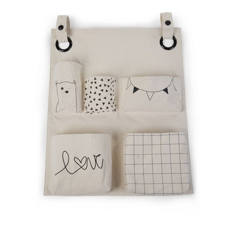 Childwood canvas organizer