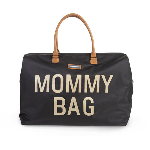 Childwood weekendtas XL Mommy Bag black gold