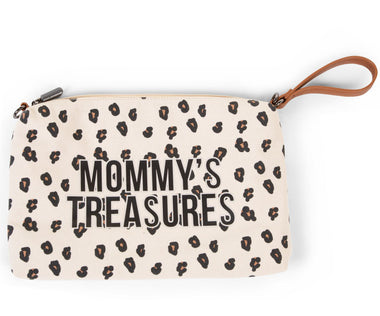 Childhome Mommy toilettas clutch Leopard