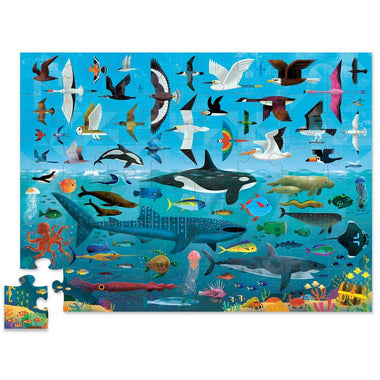 Crocodile Creek puzzel 48 stukken - Above & Below | Sea & Sky
