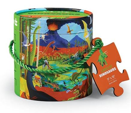 Crocodile Creek Mini Canister 24st | Land Of Dinosaurs