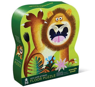 Crocodile Creek puzzel 36 stukken - Very Wild Animals