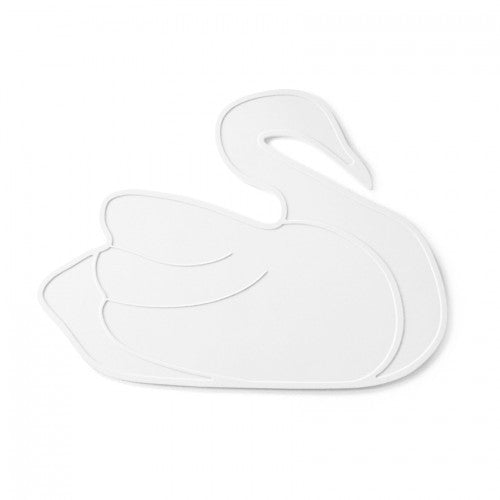 By Lille Vilde placemat swan wit - DE GELE FLAMINGO - 1