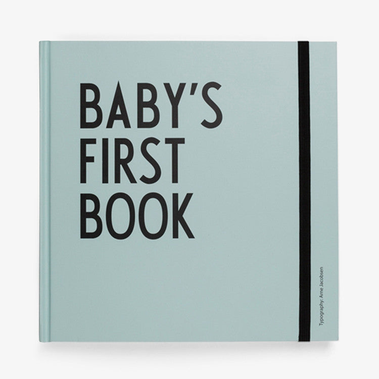 Design letters Baby's first book mint - DE GELE FLAMINGO - Kids concept store