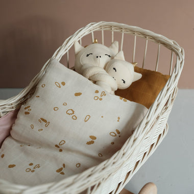 Fabelab Doll Bedding - Pine Cones