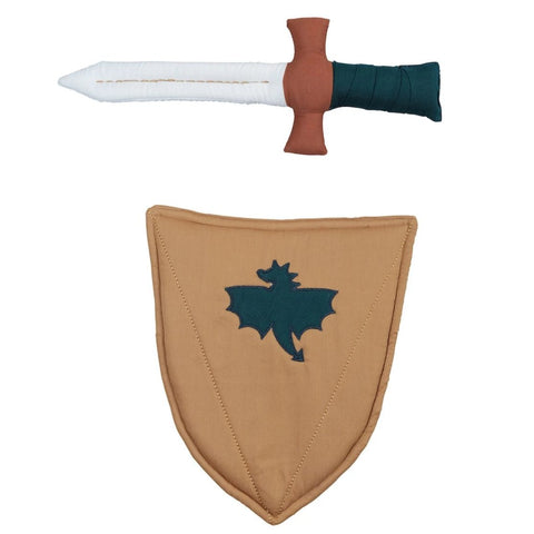 Fabelab Verkleedkledij Shield & Sword