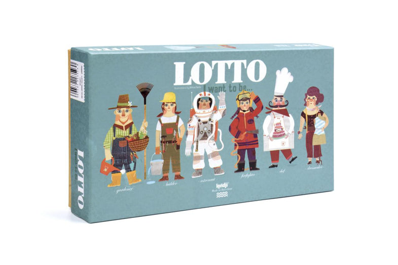 Londji Lotto Spel | I want to be...