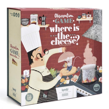 Londji Spel | Where is the cheese?