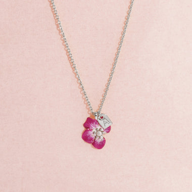 Galore Gepersonaliseerde Ketting Part Of Me | Zilver & Rose Baby
