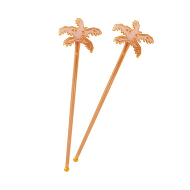 Ginger Ray Tropical Palm drink stirrers