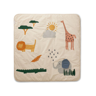 Liewood Glenn Activity Blanket | Safari Sandy Mix