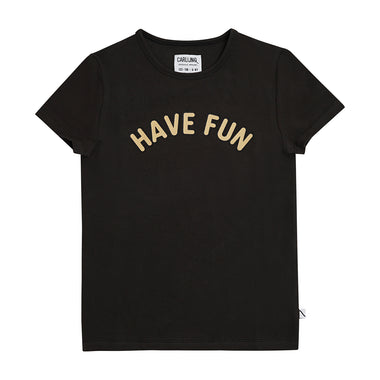 CarlijnQ T-shirt Black | Have Fun