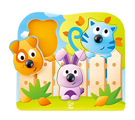 HAPE Houten inlegpuzzel  Big Nose Pet