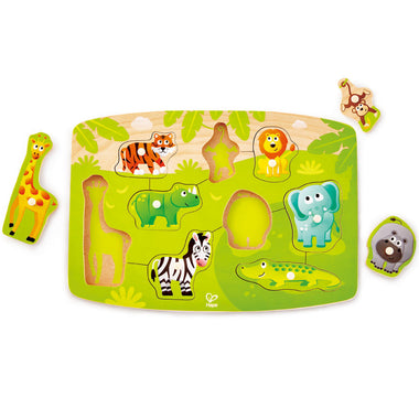 HAPE Houten Inlegpuzzel | Jungle