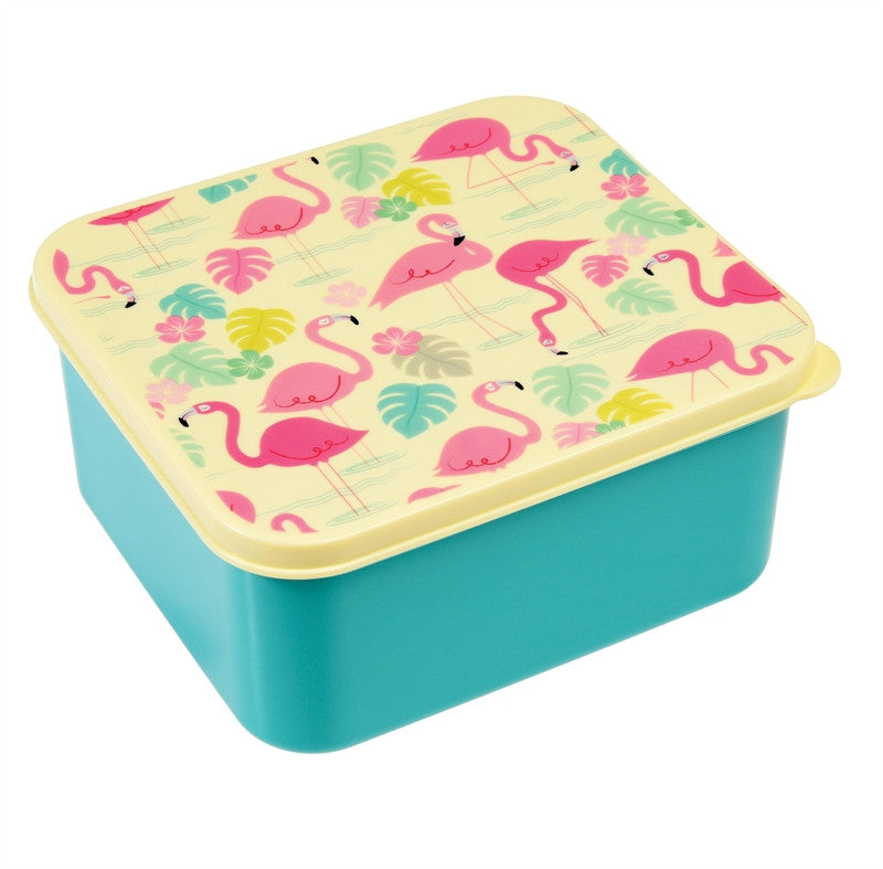 Lunch box - Flamingo - DE GELE FLAMINGO - 1