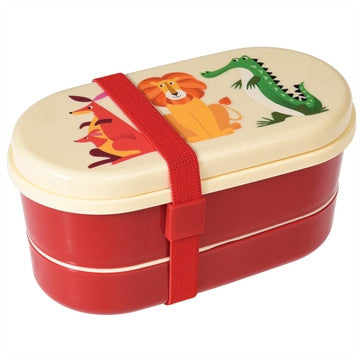 Bento box Zoo animals - DE GELE FLAMINGO - 1