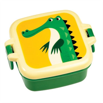 Snack box mini - Crocodile - DE GELE FLAMINGO