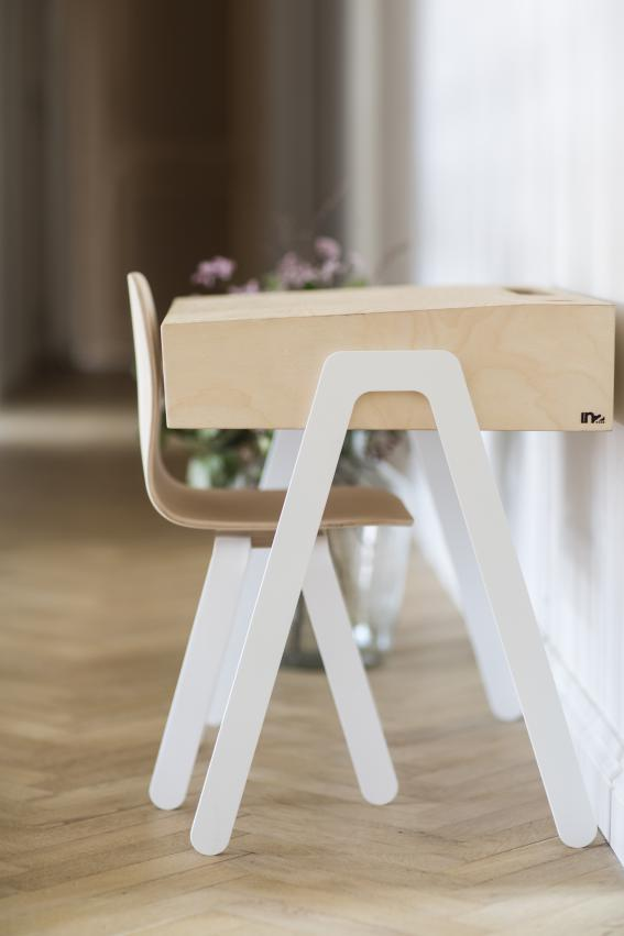In2wood Kinderbureau Small | White