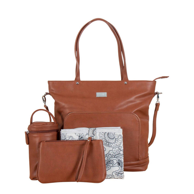 Isoki Luiertas Nappy Tote - Redwood