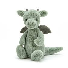 Jellycat knuffel Bashful Dragon - Small 15cm