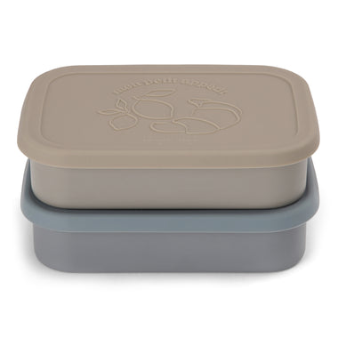 Konges Sløjd Food Boxes 2 pack | Blue