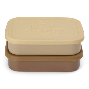 Konges Sløjd Food Boxes 2 pack | Vanilla Yellow