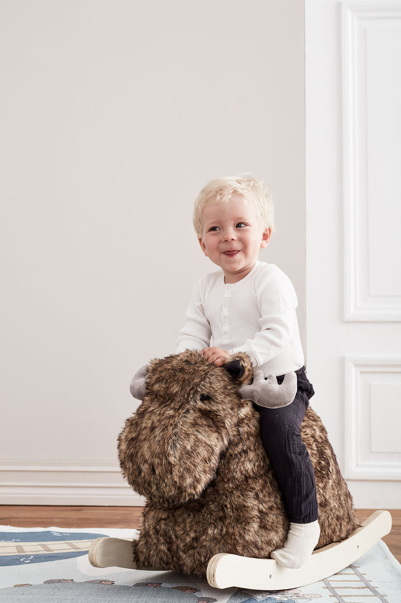 Kid's concept Rocking moose | Rendier