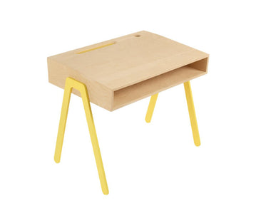 In2wood Kinderbureau Small | Yellow