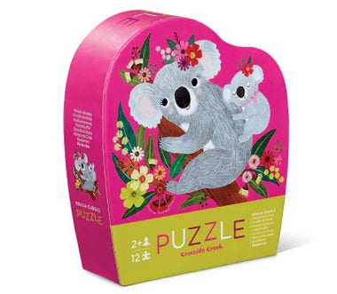 Crocodile Creek puzzel 12 stukken - Koala Cuddle