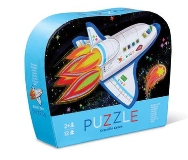 Crocodile Creek puzzel 12 stukken - Blast Off