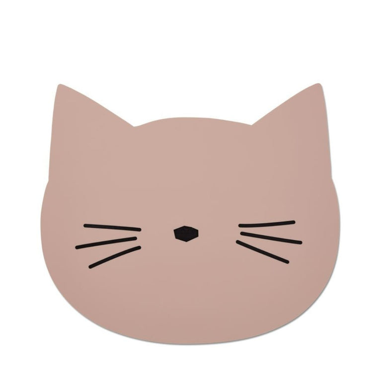 Liewood Aura Placemat Cat rose