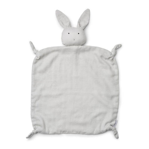 Liewood Agnete Cuddle Cloth Rabbit Dumbo Grey