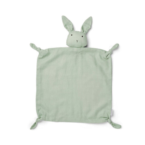 Liewood Agnete Cuddle Cloth Rabbit Dusty Mint