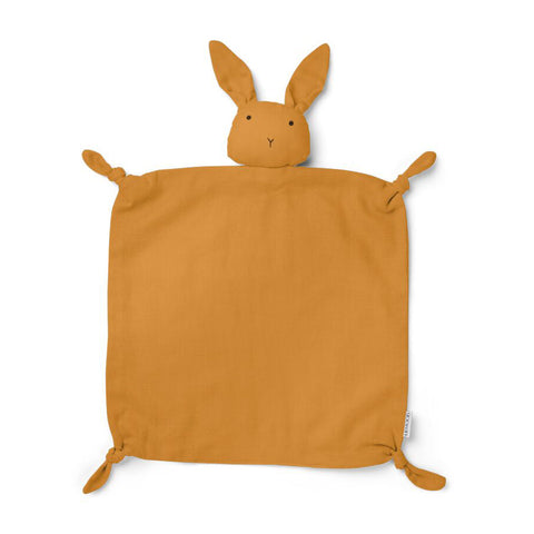 Liewood Agnete Cuddle Cloth Rabbit Mustard