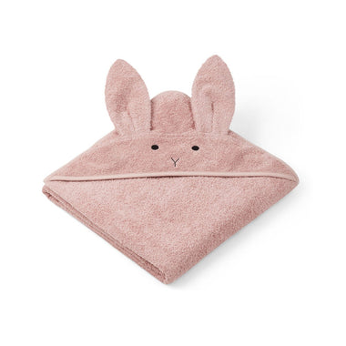 Liewood Augusta Towel Badcape  | Rabbit Rose