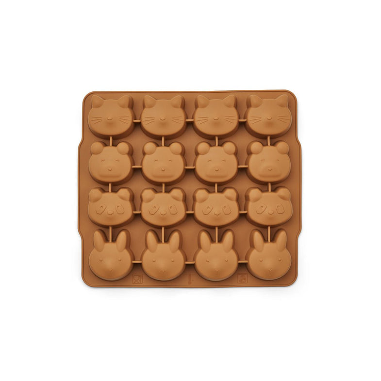 Liewood Sonny Ice Cube Tray | Hunter Green Mustard Mix