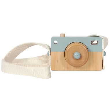 Little Dutch houten camera Blue