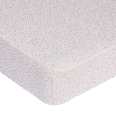Mies & Co Ledikant hoeslakentje 60x120 | Wild Child Chalk Pink