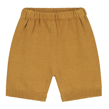 Daily Brat Mini Knitted Short | Sandstone