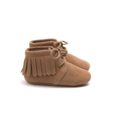 Mockies Fringe Boot | Camel