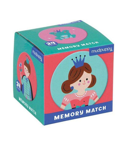 Mudpuppy Mini Memory Match | Princess