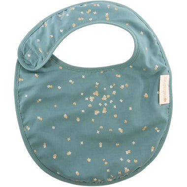 Nobodinoz slab Candy bib - Confetti Magic Green