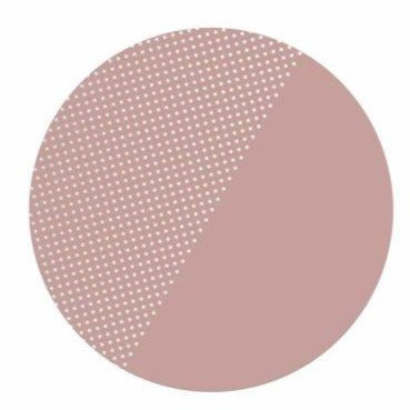 Toddlekind Clean Wean Mat Knoeimat 105cm | Spotted Dusky Rose