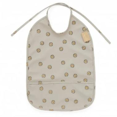 OYOY Living Rainbow Bib Slab | Lion Grey