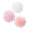 Talking Tables Pink Pom Poms Tule