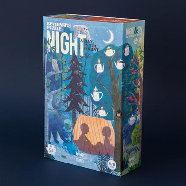 Londji Puzzel 54 stukken | Night & Day in the Forest