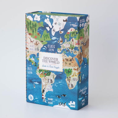 Londji Puzzel 200 stukken | Discover The World