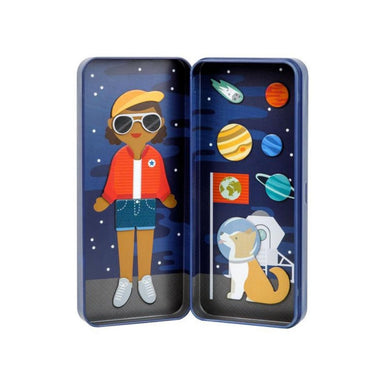 Petit Collage Magneet set On-the-go | Space